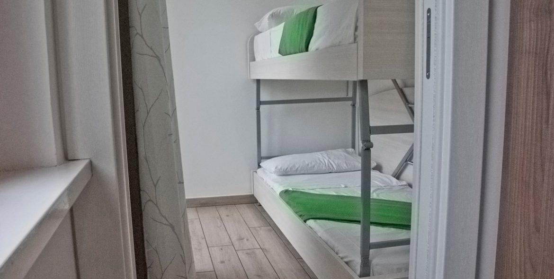Il letto aggiuntivo della camera junior suite di VivereNumana