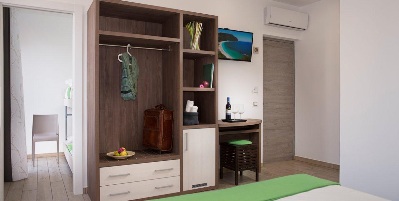 L'armadio della camera junior suite di VivereNumana
