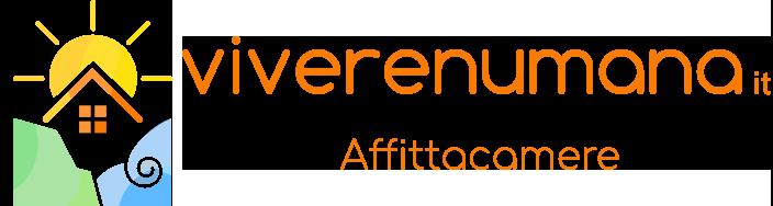 Il logo dell'affittacamere VivereNumana
