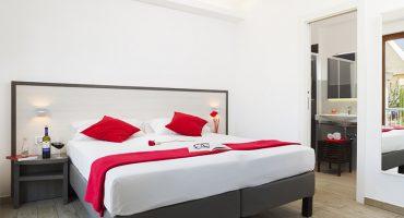 La camera matrimoniale con balconcino di VivereNumana