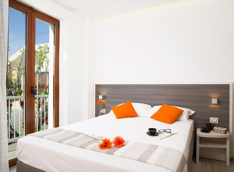 La camera tripla con balcone di VivereNumana