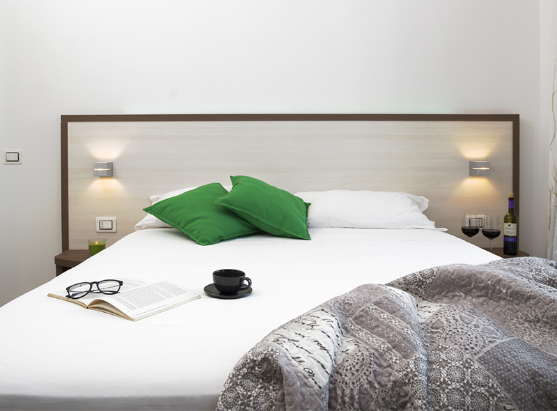 I cuscini della camera quadrupla di VivereNumana