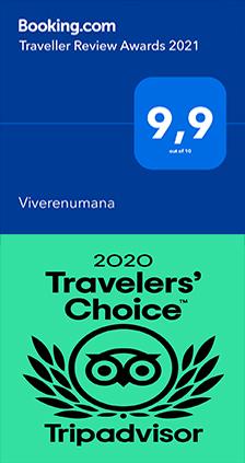 il punteggio di VivereNumana su Booking.com